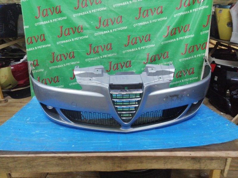Бампер Alfa Romeo 147 937A AR32310 2008 передний (б/у) ПОТЕРТОСТИ. ТЫЧКА. ТУМАНКИ. ZAR93700003307001