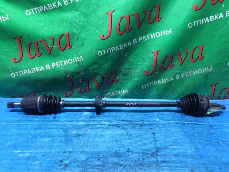 Привод Honda Airwave GJ1 L15A 2005 передний правый (б/у) 2WD
