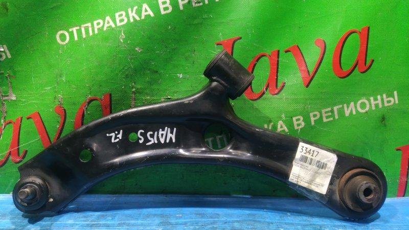 Рычаг Suzuki Solio MA15S K12B 2012 передний левый нижний (б/у) 2WD. ДЕФЕКТ ПЫЛЬНИКА