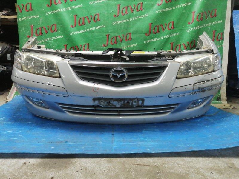 Ноускат Mazda Capella GW5R KL-ZE 2002 передний (б/у) ТУМАНКИ. 2-Я МОД. ПОД А/Т. ПОТЕРТОСТИ НА БАМПЕРЕ.