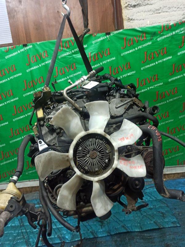 Двигатель Nissan Elgrand E51 VQ35DE 2003 (б/у) ПРОБЕГ-49000КМ. КОСА+КОМП. ЭЛЕКТРО ЗАСЛОНКА. 2WD. ПОД А/Т. СТАРТЕР В КОМПЛЕКТЕ.
