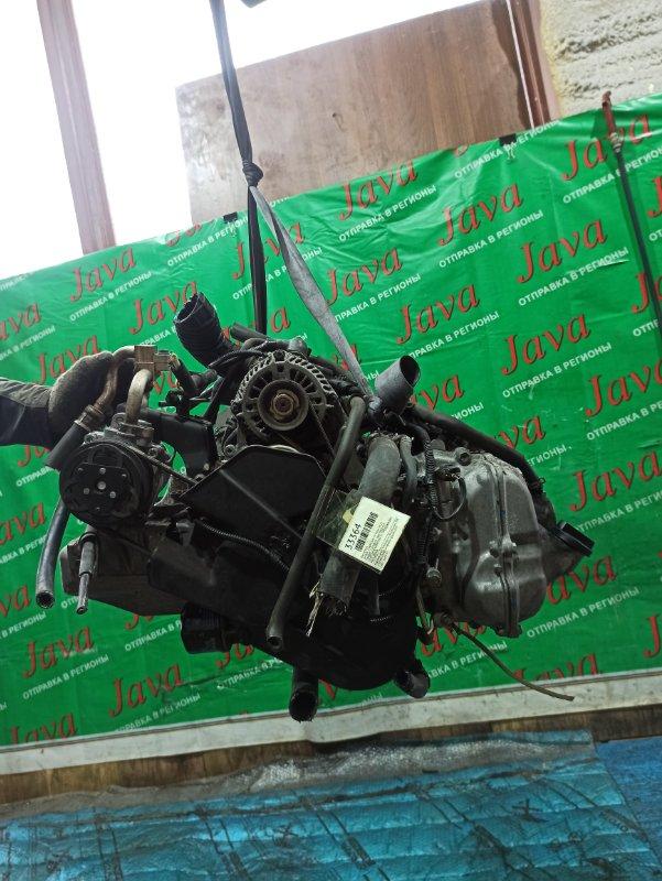 Двигатель Suzuki Every DA17V R06A 2015 (б/у) ПРОБЕГ-75000КМ. 2WD. КОСА+КОМП. ПОД М/Т. СТАРТЕР В КОМПЛЕКТЕ. ПРОДАЖА БЕЗ МАХОВИКА.