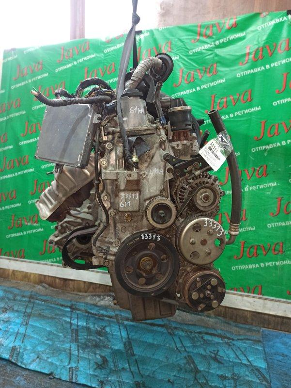 Двигатель Honda Airwave GJ1 L15A 2005 (б/у) ПРОБЕГ-61000КМ. 2WD. КОСА+КОМП. ПОД А/Т. СТАРТЕР В КОМПЛЕКТЕ.