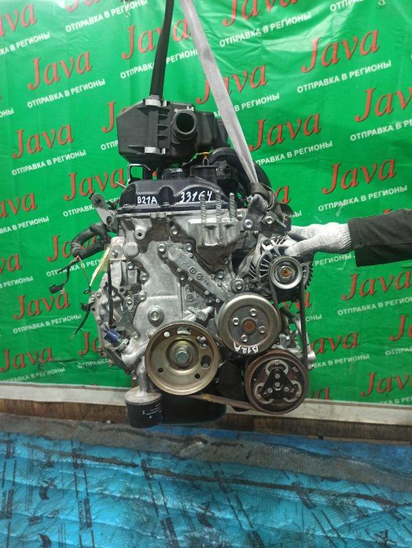 Двигатель Nissan Dayz Roox B21A 3B20 2015 (б/у) ПРОБЕГ-31000КМ. 2WD. КОСА+КОМП. ПОД А/Т. СТАРТЕР В КОМПЛЕКТЕ. ЛОМ ДАТЧИКА VVT-I.