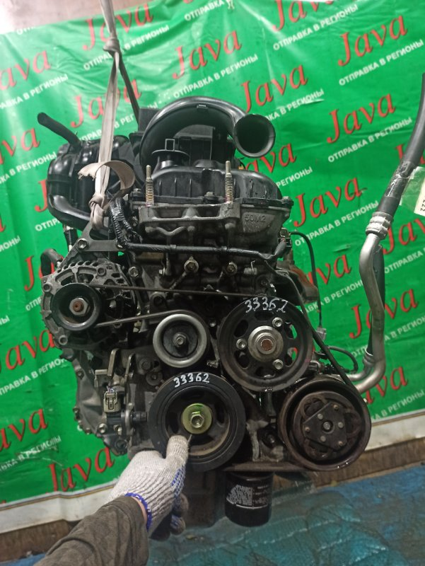 Двигатель Mazda Flair MJ34S R06A 2014 (б/у) ПРОБЕГ-38000КМ. 2WD. +КОМП. ПОД А/Т. СТАРТЕР В КОМПЛЕКТЕ.