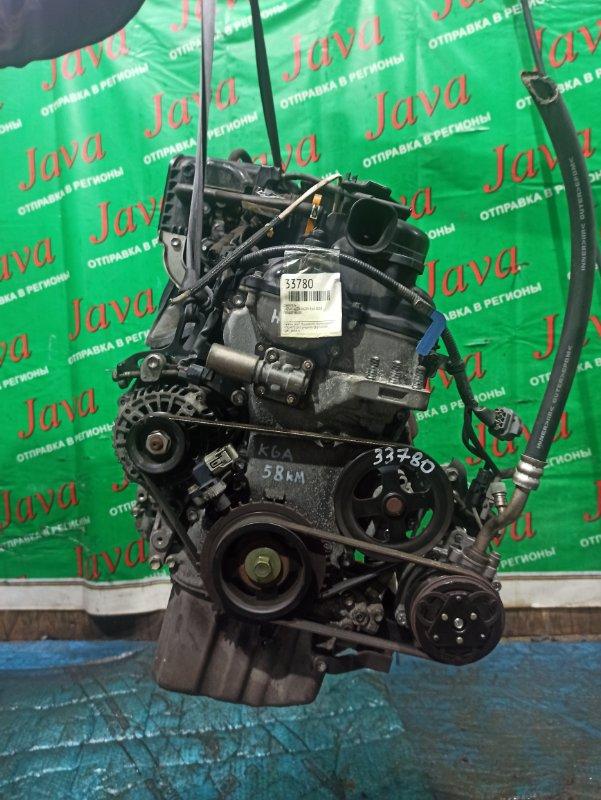 Двигатель Suzuki Alto HA25V K6A 2010 (б/у) ПРОБЕГ-58000КМ. 2WD. МЕХ.ЗАСЛОНКА. +КОМП. ПОД А/Т. СТАРТЕР В КОМПЛЕКТЕ.