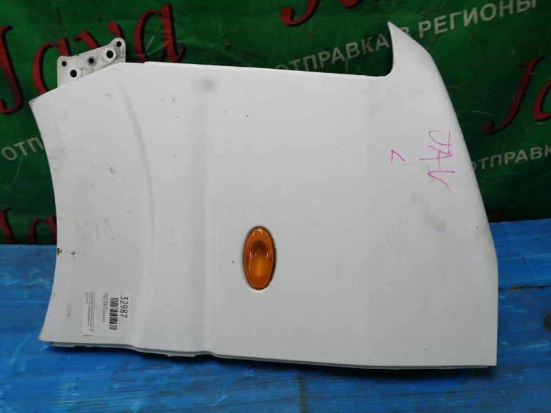 Крыло Suzuki Every DA64 K6A 2008 переднее левое (б/у) ПОСЛЕ ФОТО УПАКОВАНО. ПОТЕРТОСТИ.