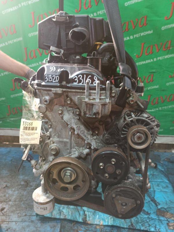 Двигатель Mitsubishi Ek Wagon B11W 3B20 2015 (б/у) ПРОБЕГ-39000КМ. 2WD. КОСА+КОМП. ПОД А/Т. СТАРТЕР В КОМПЛЕКТЕ.