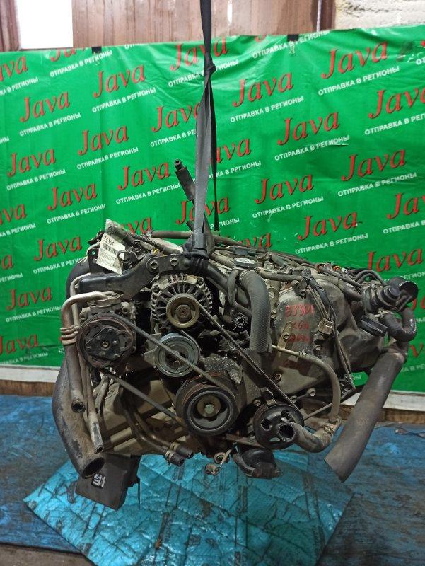 Двигатель Suzuki Every DA64W K6A-T 2007 (б/у) ПРОБЕГ-63000КМ. 4WD. МЕХ. ЗАСЛОНКА. ПОД А/Т. СТАРТЕР В КОМПЛЕКТЕ.