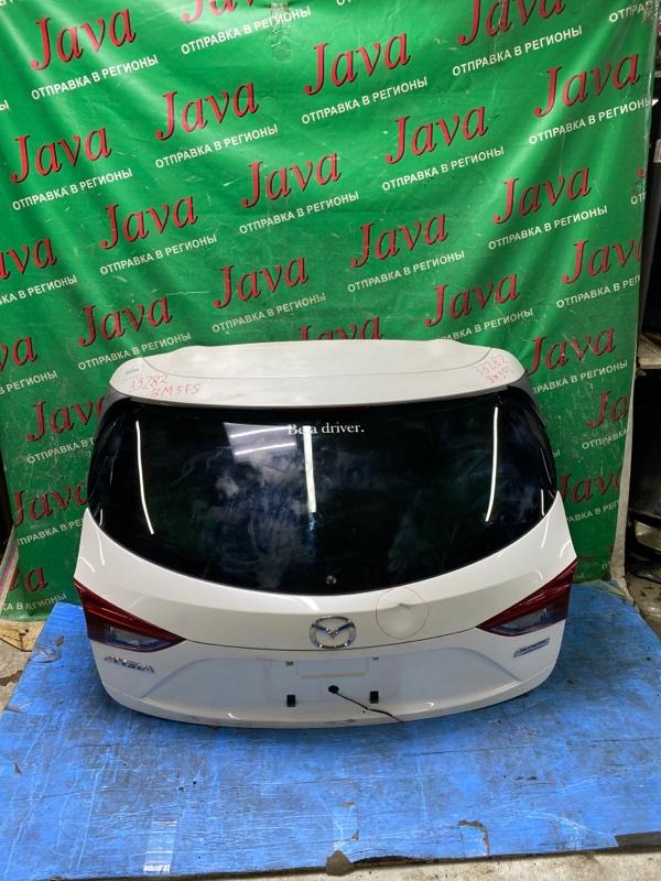 Дверь задняя Mazda Axela BM5FS P5 2014 задняя (б/у) ПОТЕРТОСТИ. ВМЯТИНА. СПОЙЛЕР. КАМЕРА
