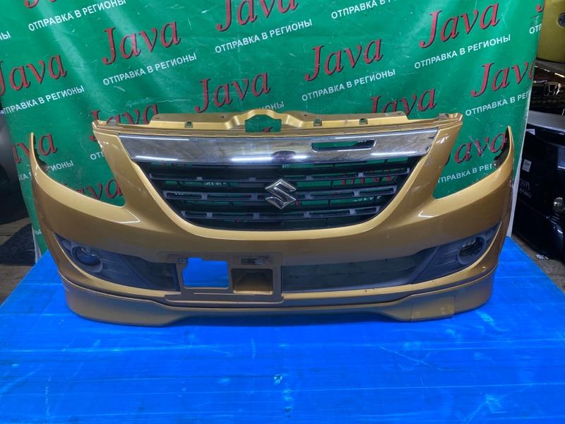 Бампер Suzuki Cervo HG21S K6A 2007 передний (б/у) ПОТЕРТОСТИ. БАМПЕР НАДОРВАН( ВНИЗУ) ДЕФЕКТ -L- ТУМАНКИ.