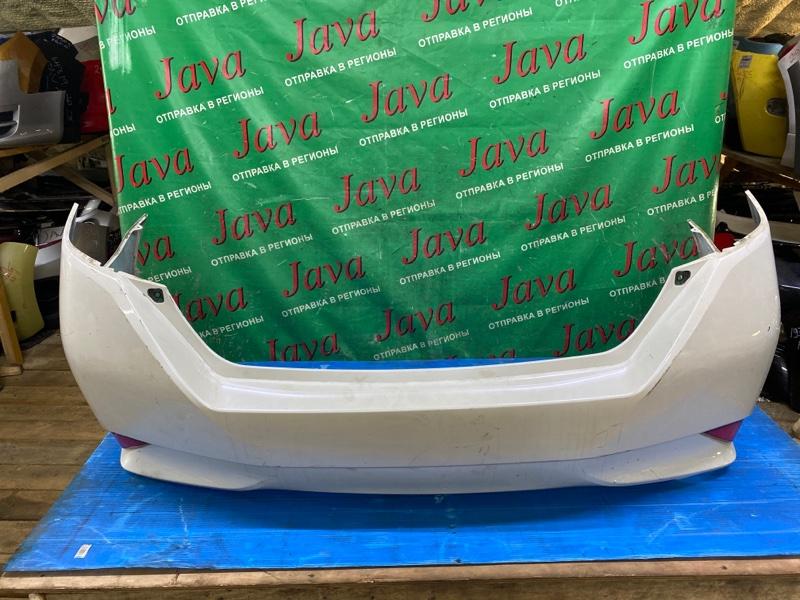 Бампер Toyota Sai AZK10 2AZ-FXE 2014 задний (б/у) ПОТЕРТОСТИ.