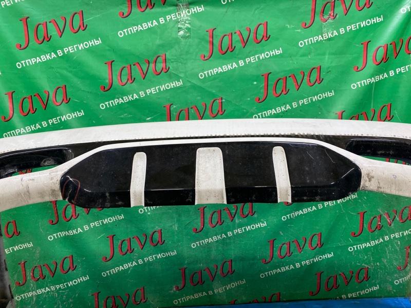 Бампер Jaguar Xj X308 AJ 2001 задний (б/у) ПОТЕРТОСТИ. НАДОРВАН СНИЗУ.