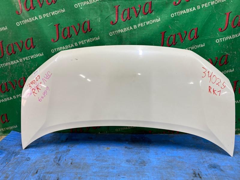 Капот Honda Step Wagon RK1 R20A 2012 передний (б/у) ПОТЕРТОСТИ.