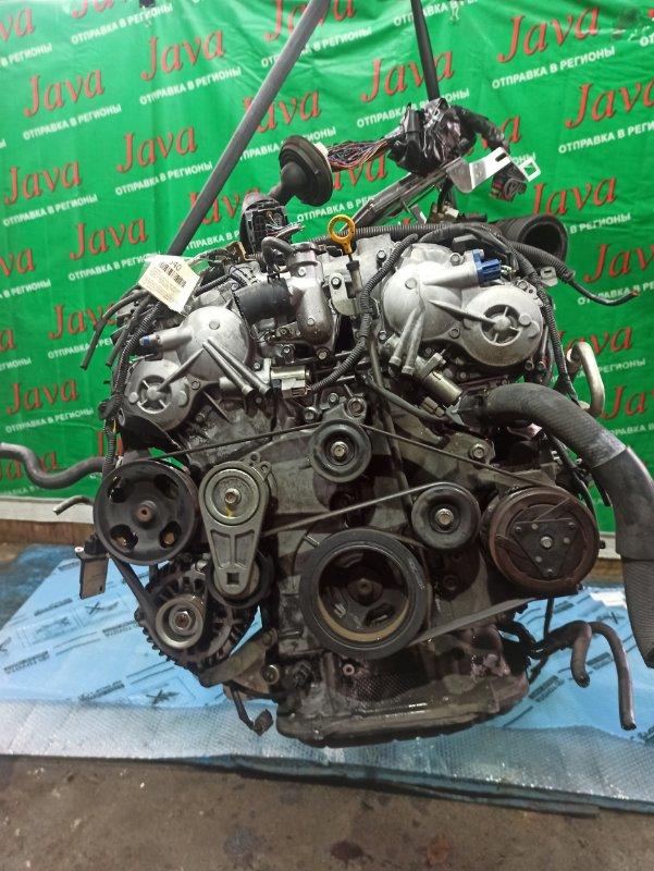 Двигатель Nissan Skyline PV36 VQ35HR 2007 (б/у) ПРОБЕГ-69000КМ. 2WD. КОСА+КОМП. ПОД А/Т. СТАРТЕР В КОМПЛЕКТЕ.