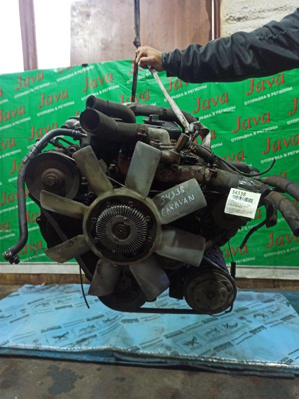 Двигатель Nissan Caravan VRE24 TD27 1992 (б/у) ПРОБЕГ-80000КМ. 2WD. МЕХ.ТНВД. 12V. ПОД А/Т. СТАРТЕР В КОМПЛЕКТЕ.
