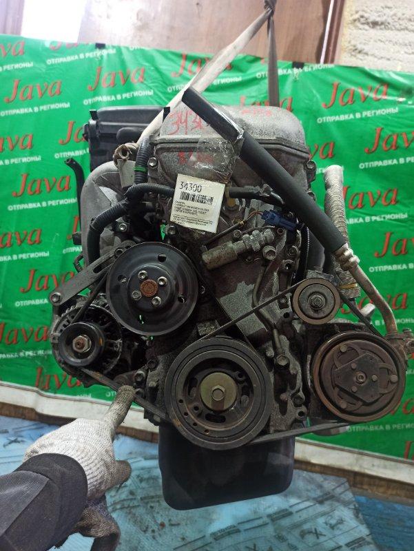 Двигатель Chevrolet Mw ME34S M13A 2005 (б/у) ПРОБЕГ-52000КМ. 2WD. +КОМП. МЕХ. ЗАСЛОНКА. ПОД А/Т. СТАРТЕР В КОМПЛЕКТЕ.