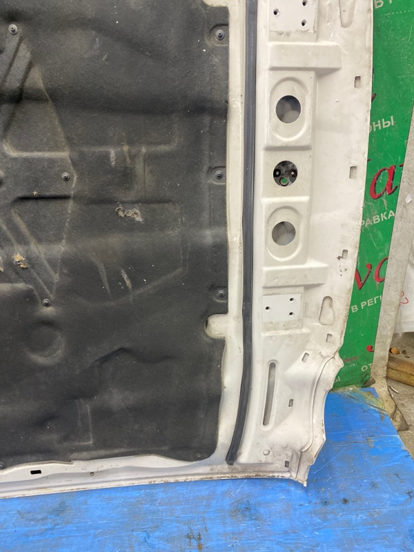 Капот Jaguar Xj X308 AJ 2001 передний (б/у) ПОТЕРТОСТИ.