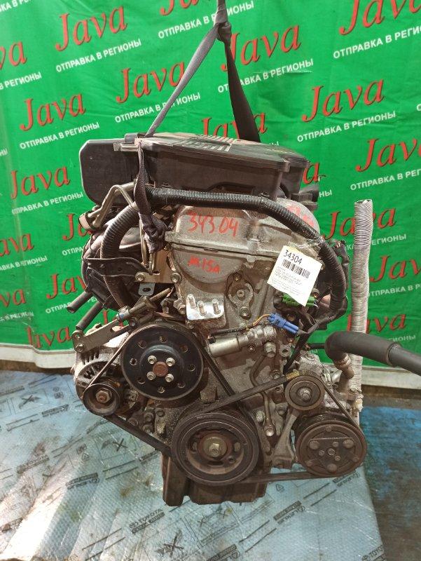 Двигатель Suzuki Sx4 YC11S M15A 2009 (б/у) ПРОБЕГ-73000КМ. 2WD. +КОМП. ПОД А/Т. СТАРТЕР В КОМПЛЕКТЕ.