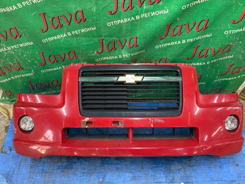 Бампер Chevrolet Mw ME34S M13A 2006 передний (б/у) ПОТЕРТОСТИ. ДЕФЕКТ КРЕПЛЕНИЙ. ТУМАНКИ