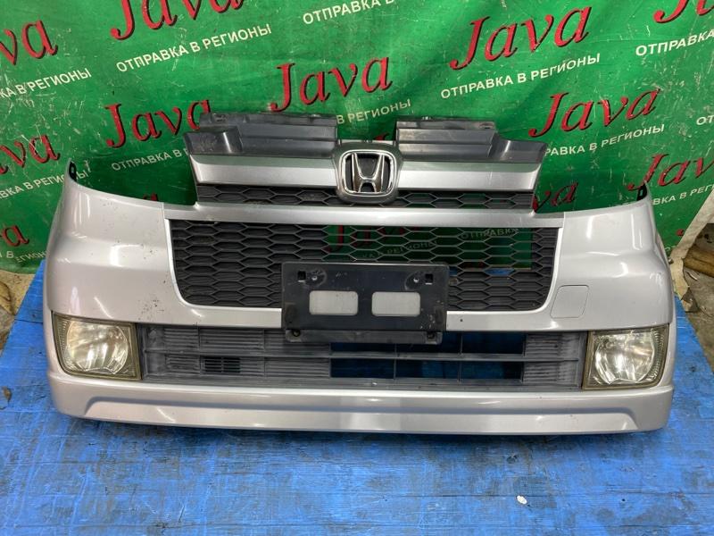 Бампер Honda Zest JE1 P07A 2006 передний (б/у) ПОТЕРТОСТИ. ТУМАНКИ.