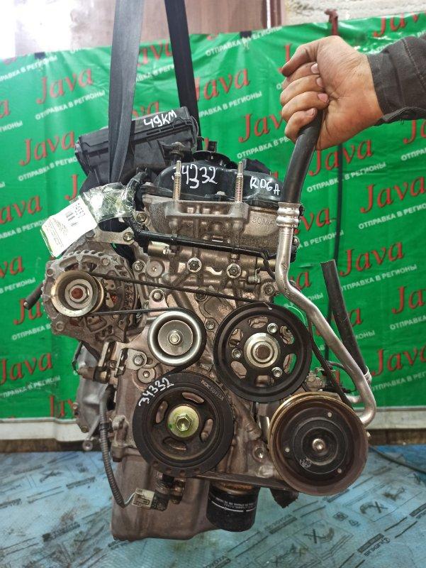 Двигатель Suzuki Alto HA36S R06A 2015 (б/у) ПРОБЕГ-49000КМ. 2WD. КОСА+КОМП. ПОД А/Т. СТАРТЕР В КОМПЛЕКТЕ.