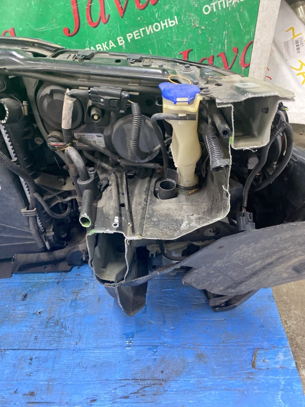 Ноускат Volvo V70 YV1S B5244S 2005 передний (б/у) ОМЫВАТЕЛИ ФАР. ПОТЕРТОСТИ И ТРЕЩИНА С НИЗУ НА БАМПЕРЕ. YV1SW654952518337