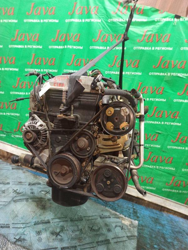 Двигатель Mazda Familia BJ8W FP-DE 1999 (б/у) ПРОБЕГ-61000КМ. 4WD. +КОМП. ПОД А/Т. СТАРТЕР В КОМПЛЕКТЕ.