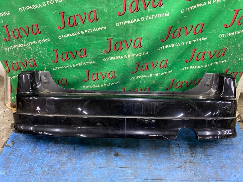 Бампер Toyota Bb NCP30 2NZ-FE 2005 задний (б/у) ПОТЕРТОСТИ. ГУБА