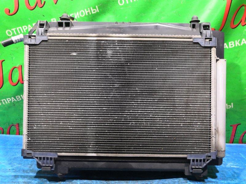 Радиатор основной Suzuki Solio MA15S K12B 2012 передний (б/у) +РАДИАТОР КОНДИЦИОНЕРА. А/Т