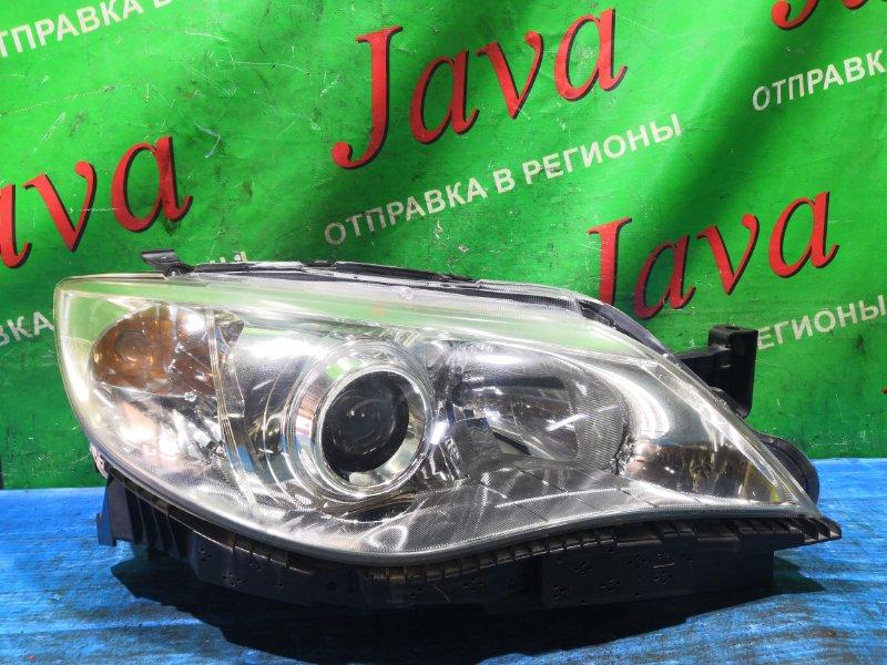 Фара Subaru Impreza GH2 EL154 2009 передняя правая (б/у) XENON НЕ ШТАТНЫЙ. 1806