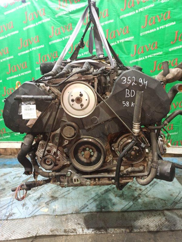 Двигатель Audi A4 8E BDV 2002 (б/у) ПРОБЕГ-58000КМ. 2WD. КОСА+КОМП. ПОД А/Т. СТАРТЕР В КОМПЛЕКТЕ. WAUZZZ8E52A195928