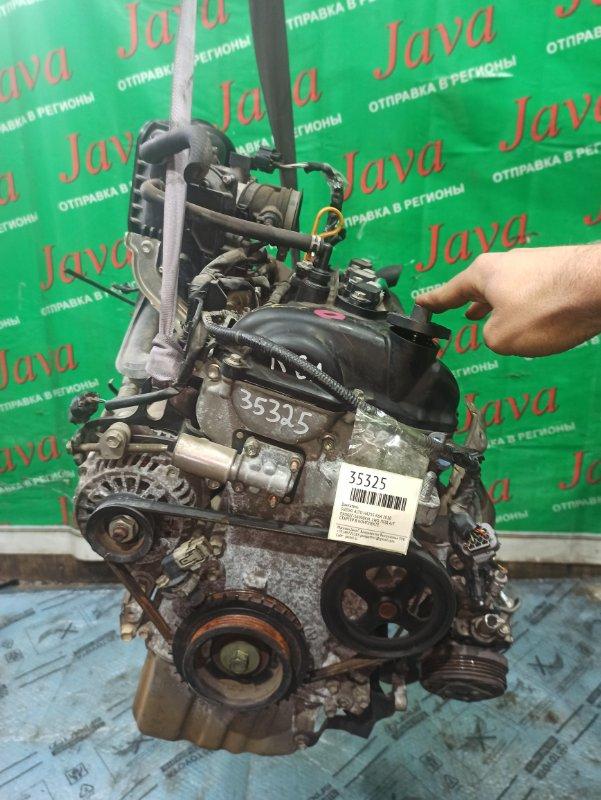 Двигатель Suzuki Alto HA25S K6A 2010 (б/у) ПРОБЕГ-56000КМ. 2WD. +КОМП. ЭЛЕКТРО ЗАСЛОНКА. ПОД А/Т. СТАРТЕР В КОМПЛЕКТЕ. ЛОМ КРЕПЛЕНИЯ КОМПРЕССОРА КОНДИЦИОНЕРА. ПОГНУТ ШКИВ ПОМПЫ. ЛОМ ДАТЧИКА VVT-I.