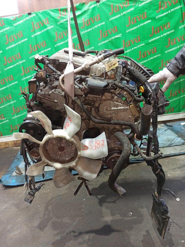 Двигатель Nissan Elgrand NE51 VQ35DE 2003 (б/у) ПРОБЕГ-68000КМ. 4WD. КОСА+КОМП. ЭЛЕКТРО ЗАСЛОНКА. ПОД А/Т. СТАРТЕР В КОМПЛЕКТЕ.