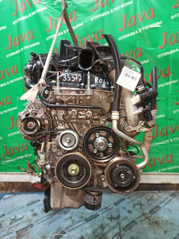 Двигатель Suzuki Spacia MK32S R06A-T 2014 (б/у) ПРОБЕГ-20000КМ. 2WD. +КОМП. ПОД А/Т. СТАРТЕР В КОМПЛЕКТЕ.