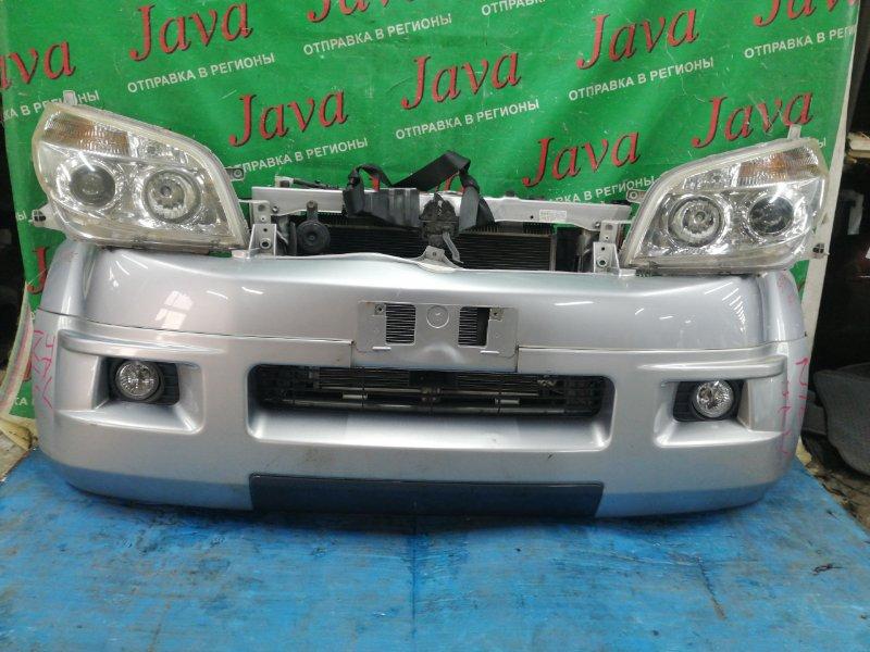Ноускат Toyota Rush J210E 3SZ-VE 2006 передний (б/у) ТУМАНКИ. ГУБА. ПОД А/Т.