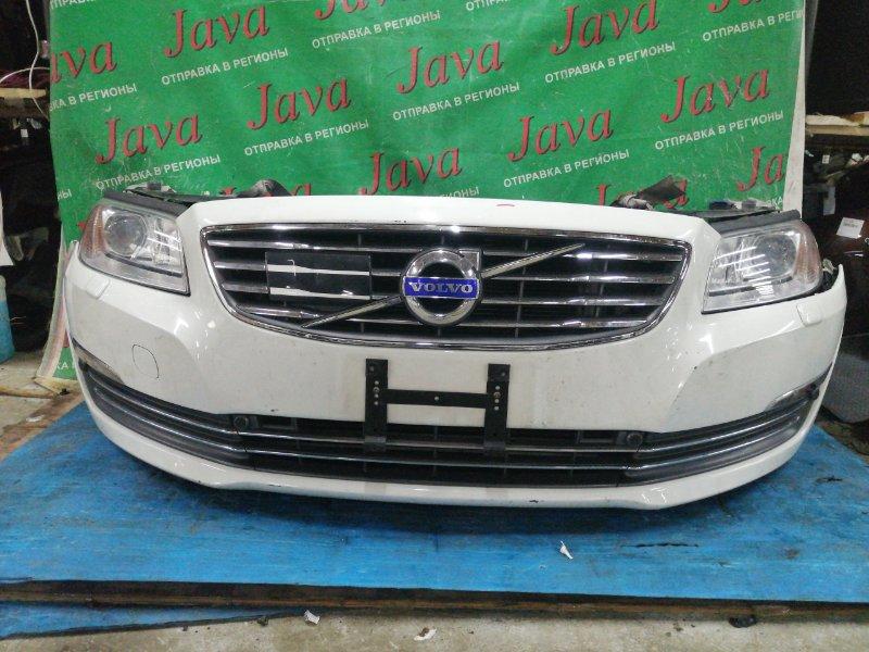Ноускат Volvo S80 AS90 B6304T4 2014 передний (б/у) КСЕНОН. СОНАРЫ. ОМЫВАТЕЛИ ФАР. YV1AS90H6E1178843