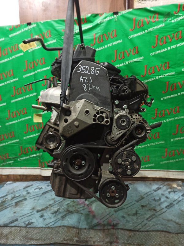 Двигатель Volkswagen New Beetle 9C1 AZJ 2007 (б/у) ПРОБЕГ-82000КМ. 2WD. ПОД А/Т. СТАРТЕР В КОМПЛЕКТЕ. WVWZZZ9CZ6M506115