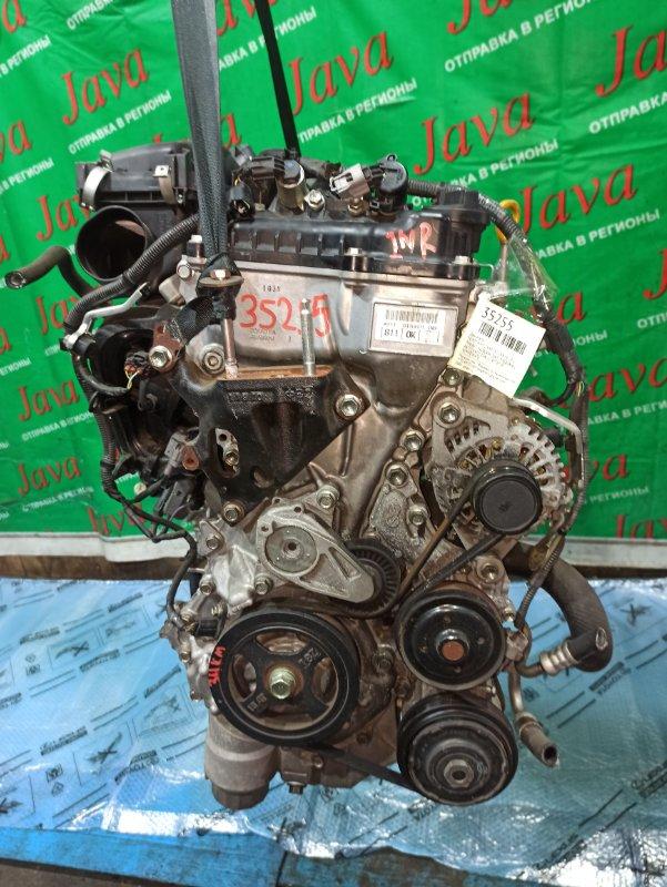 Двигатель Toyota Vitz NSP130 1NR-FE 2011 (б/у) ПРОБЕГ-34000КМ. 2WD. ПРОДАЖА С АКПП(K411-02A). +КОМП. СТАРТЕР В КОМПЛЕКТЕ. ЛОМ ДАТЧИКА VVT-I.