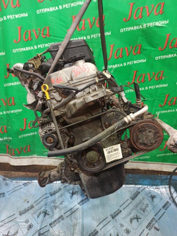 Двигатель Suzuki Wagon R MC21S K6A 2000 (б/у) ПРОБЕГ-43000КМ. 4WD. +КОМП. МЕХ.ЗАСЛОНКА. ПОД М/Т. СТАРТЕР В КОМПЛЕКТЕ. ПРОДАЖА БЕЗ МАХОВИКА.