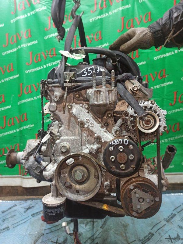 Двигатель Mitsubishi Ek Wagon B11W 3B20 2014 (б/у) ПРОБЕГ-20000КМ. 4WD. КОСА+КОМП. ПОД А/Т. СТАРТЕР В КОМПЛЕКТЕ.