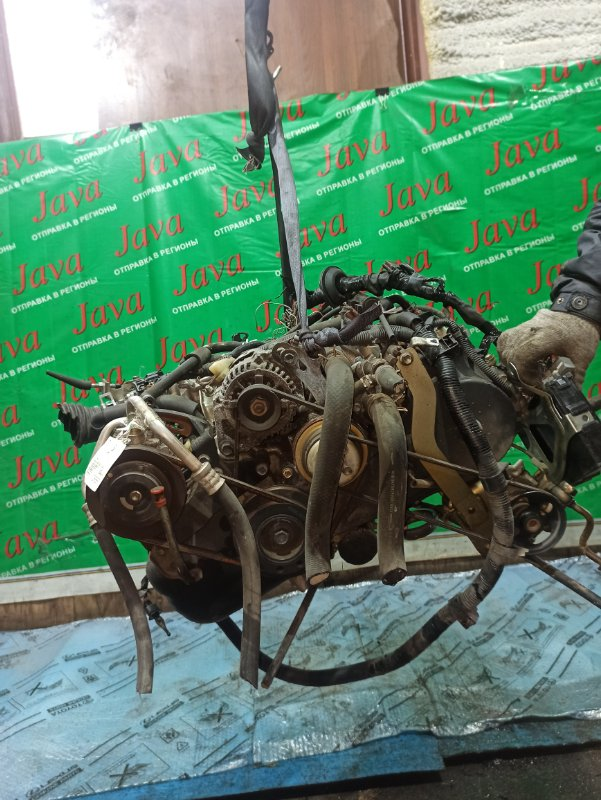 Двигатель Daihatsu Hijet S320V EF-VE 2007 (б/у) ПРОБЕГ-61000КМ. 4WD. +КОМП. ПОД М/Т. СТАРТЕР В КОМПЛЕКТЕ. ПРОДАЖА БЕЗ МАХОВИКА.