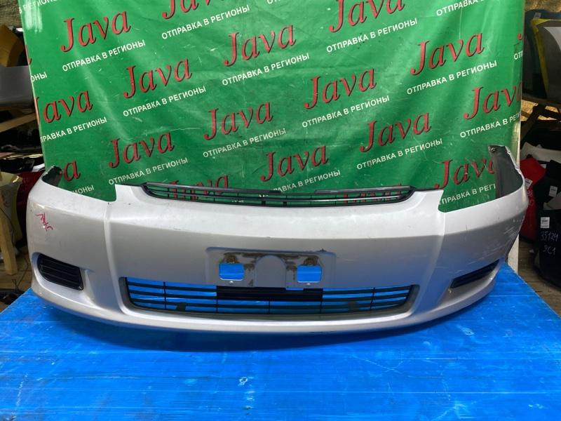 Бампер Toyota Wish ZNE10 1ZZ-FE 2004 передний (б/у) 1 МОДЕЛЬ. ПОТЕРТОСТИ.