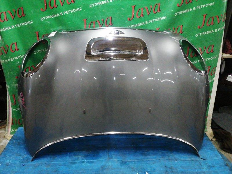 Капот Mini Cooper R56 2007 передний (б/у) WMWMF72030TL40910. ПОТЕРТОСТИ. ПОЛЕЗ ХРОМ НА НОЗДРЕ.