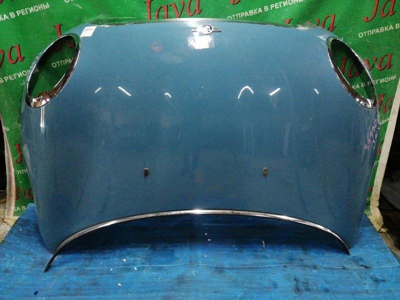 Капот Mini Cooper R56 2007 передний (б/у) WMWME32010TM72799. ПОТЕРТОСТИ. МАЛЕНЬКАЯ ТЫЧКА