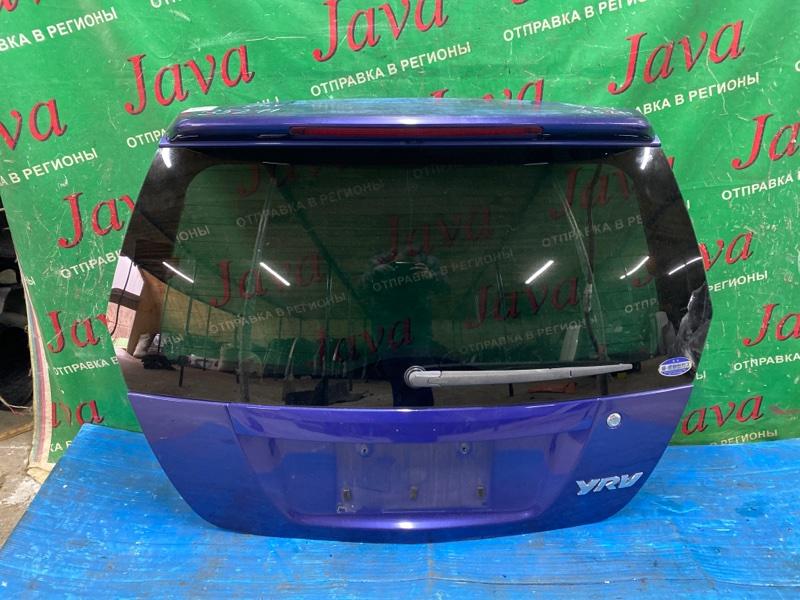Дверь задняя Daihatsu Yrv M201G K3-VE 2003 задняя (б/у) ПОТЕРТОСТИ. ПОЛЕЗ ЛАК. СПОЙЛЕР. МЕТЛА