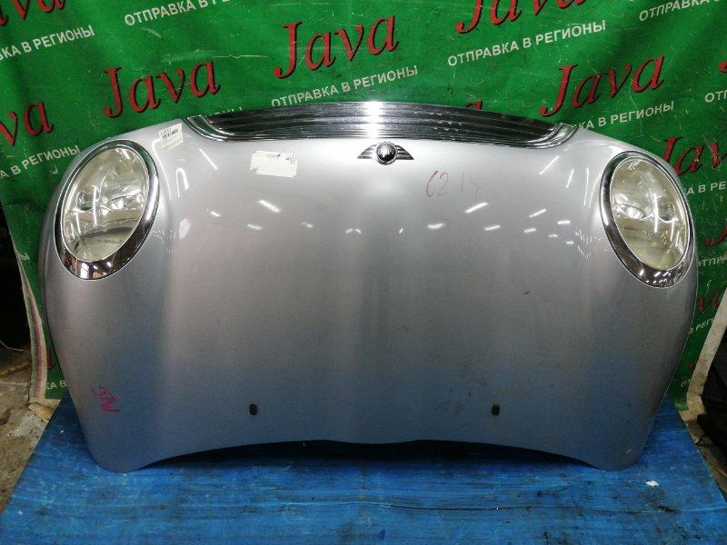 Капот Mini Cooper R50 W10B16A 2002 передний (б/у) WMWRC32060TE01841.В СБОРЕ. ПОТЕРТОСТИ.