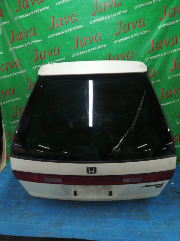 Дверь задняя Honda Accord CF7 F23A 1997 задняя (б/у) ПОТЕРТОСТИ. СПОЙЛЕР. МЕТЛА