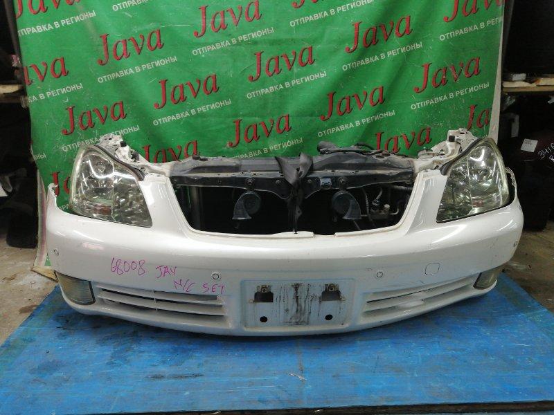 Ноускат Toyota Crown GRS182 3GR-FSE 2005 передний (б/у) КСЕНОН. СОНАРЫ.
