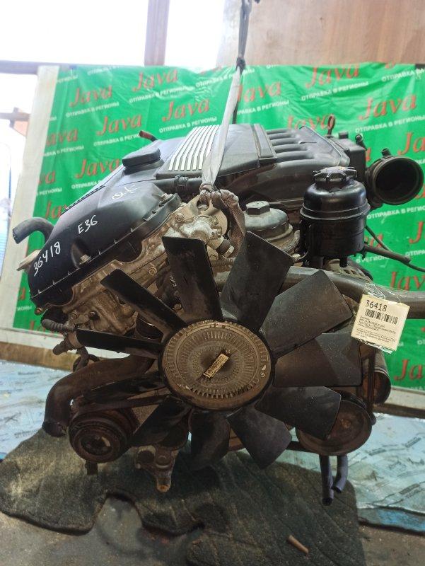 Двигатель Bmw Z3 E36 M52B20 1999 (б/у) 2WD. ПОД А/Т. 206S4. 2.0L. КОСА+КОМП. СТАРТЕР В КОМПЛЕКТЕ. WBACL32020LG84423